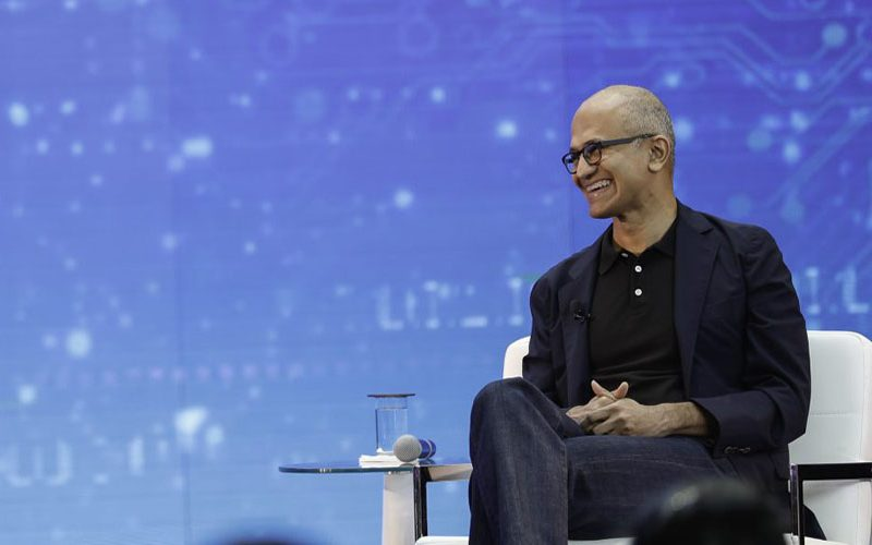 That's just not stable : CEO Satya Nadella didn't think it was worth celebrating when Microsoft became the world's most valuable company